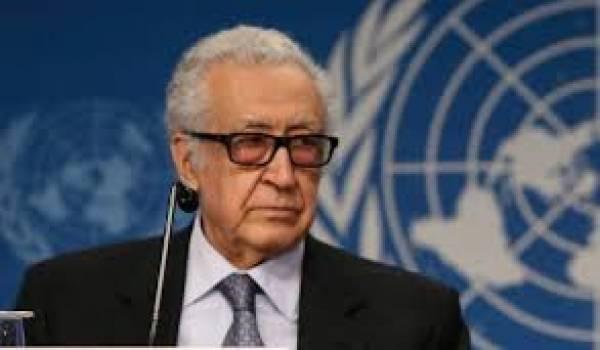 Brahimi n'a pas réussi à faire avancer les négociations