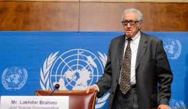 Lakhdar Brahimi a déjà rencontré l'opposition.
