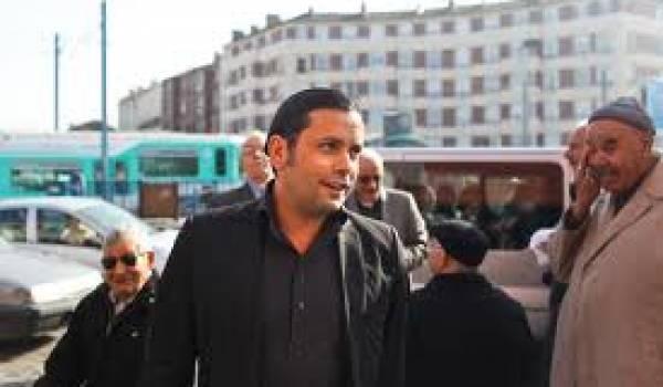 Kamel Hamza à la Courneuve.