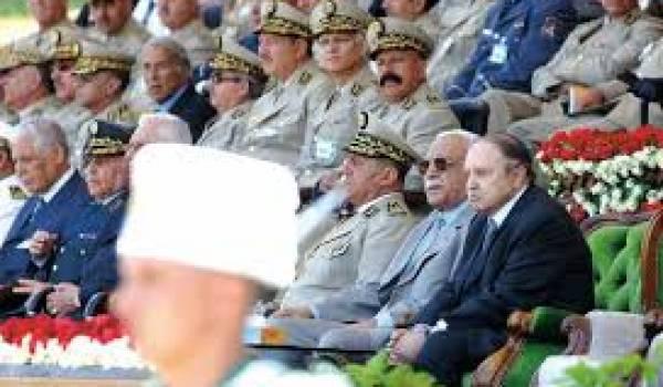 Ce sont les services et l'armée qui a fait tous les présidents depuis l'indépendance.