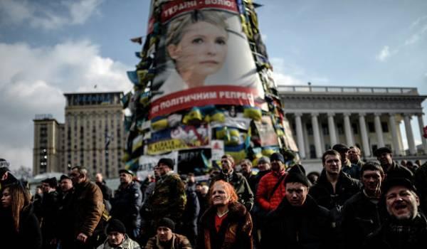 Les manifestants de la place Maidan