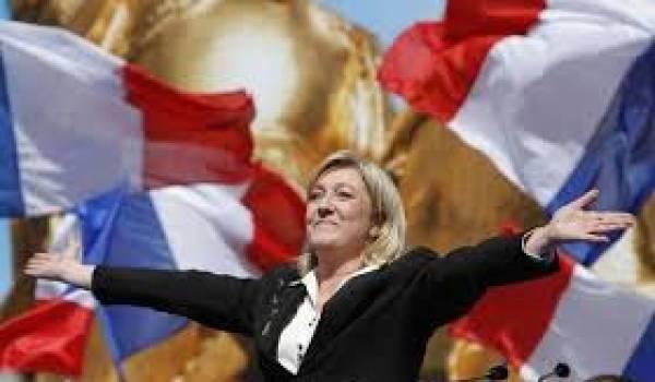 Marine Le Pen jubile devant une France qui se droitise.