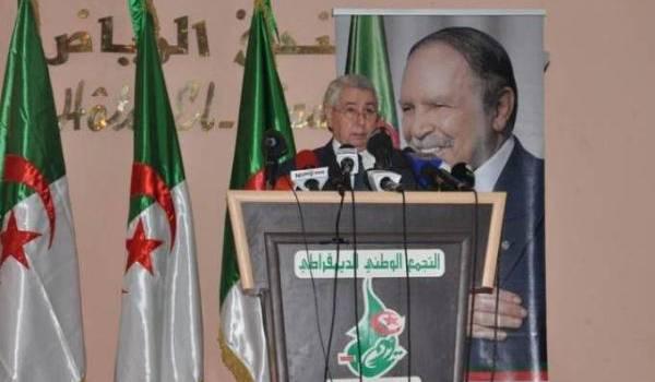 Bensalah, inconditionnel soutien et propagandiste de Bouteflika