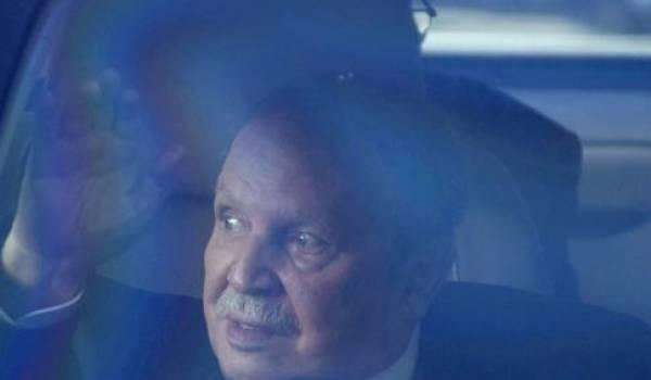 L'une des dernières apparitions furtives de Bouteflika.
