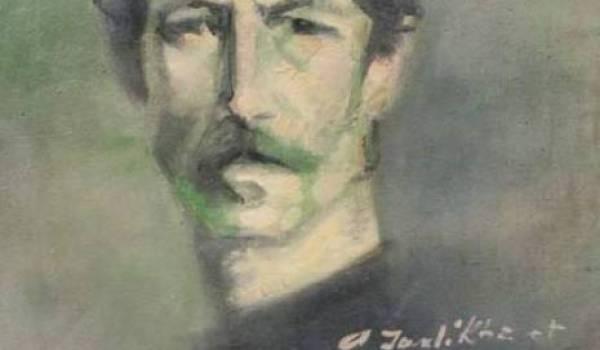M'hamed Issiakhem, Autoportrait.