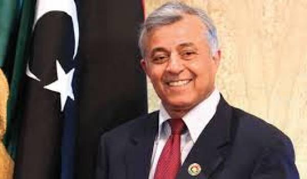 Nouri Bousahmein, le président libyen.