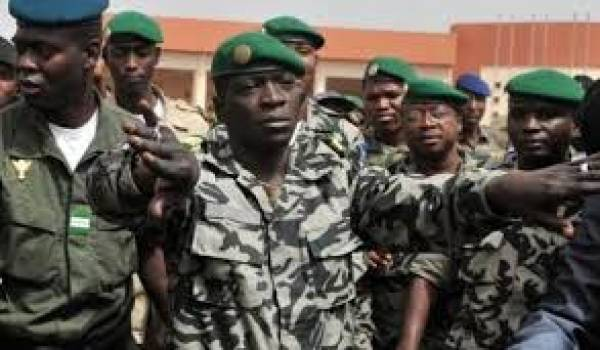 Le capitaine Sanogo, chef putschiste malien