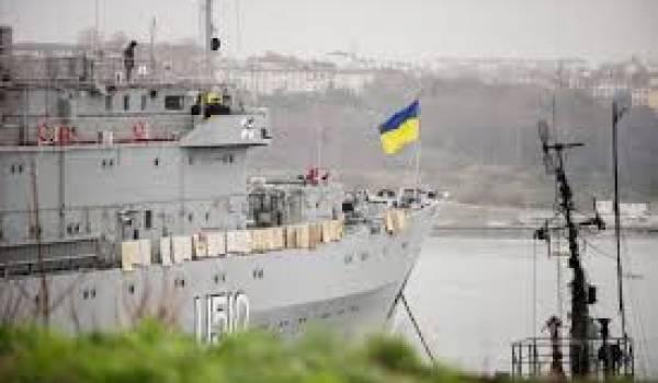Un groupe armé a pris le contrôle d'in navire de guerre ukrainien