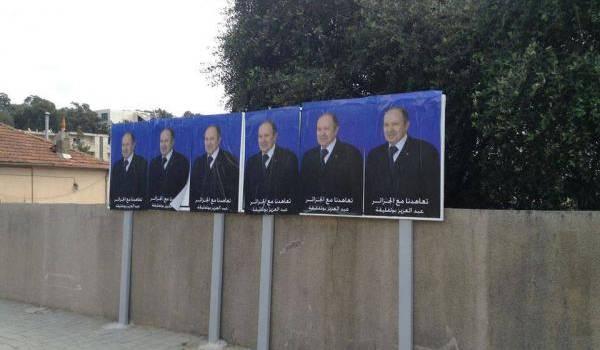 Le pouvoir va faire voter les Algériens sur un portrait.