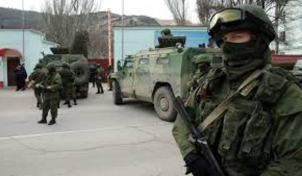 L'armée russe se déploie à l'Est.