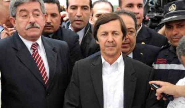 Ahmed Ouyahia et Saïd Bouteflika.