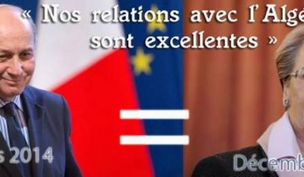 La diplomatie française connue pour sa complaisance avec les dictateurs africains vient de donner un blanc seing au régime algérien.