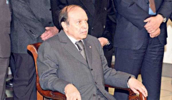Abdelaziz Bouteflika 77 ans, malade, et candidat virtuel à un mandat à vie.