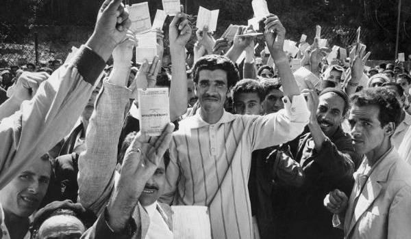Depuis le 1er juillet 1962, de scrutin, il n'y en a eu point en Algérie