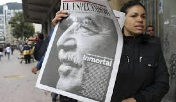 Hommage et deuil à Gabriel García Márquez