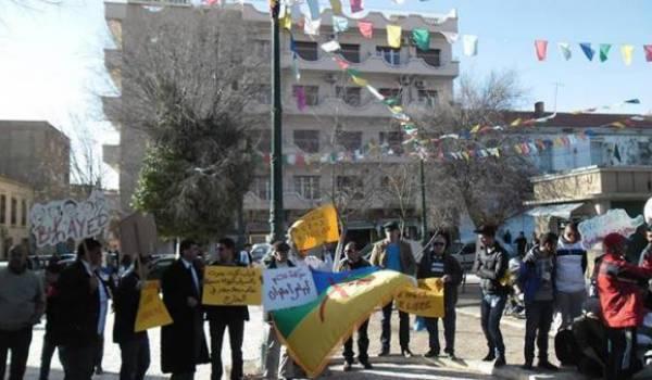 Rassemblement de Chaouis en soutien aux Kabyles lynchés par la police.