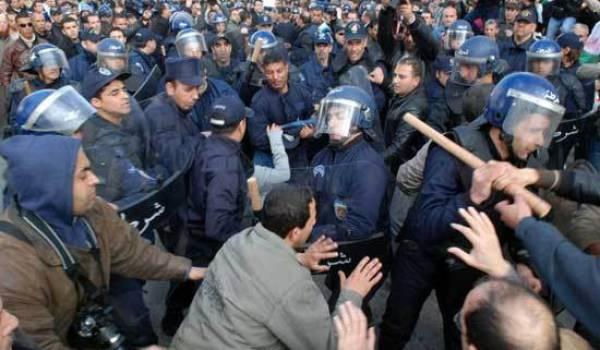 La police du général Hamel a violemment réprimé les militants de Barakat.