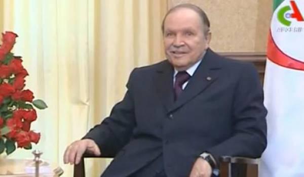 Bouteflika, présient malade, candidat fantôme qui entend rester à tout prix au pouvoir.