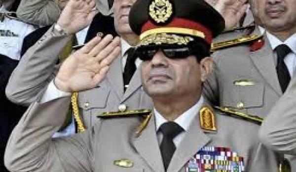 Le maréchal Al Sissi, héritier de Moubarak, se prépare à prendre la présidence de l'Egypte.