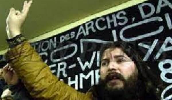 Belaïd Abrika, ex-porte-parole du Mouvement des Aarchs.