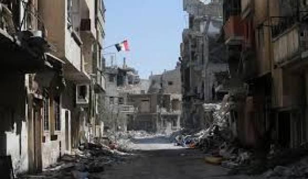 Les combattants se retirent de Homs après un accord avec le pouvoir.