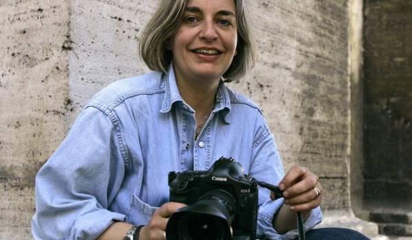 Anja Niedringhaus, 48 ans, une photographe allemande de renommée internationale,