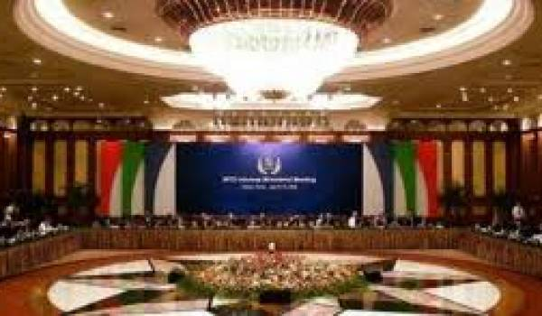 Le siège de l'Organisation mondiale du commerce.