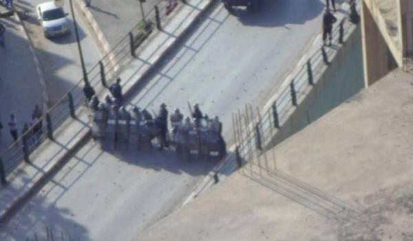 Les émeutes ont repris lundi.