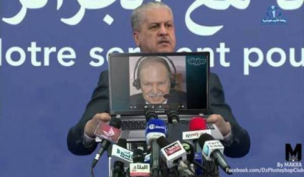 Sellal a déclaré que Bouteflika s'est mis debout, mais devant qui ?