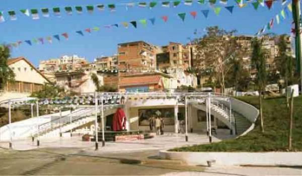 Inauguration populaire de la stèle de Saïd Mekbel.