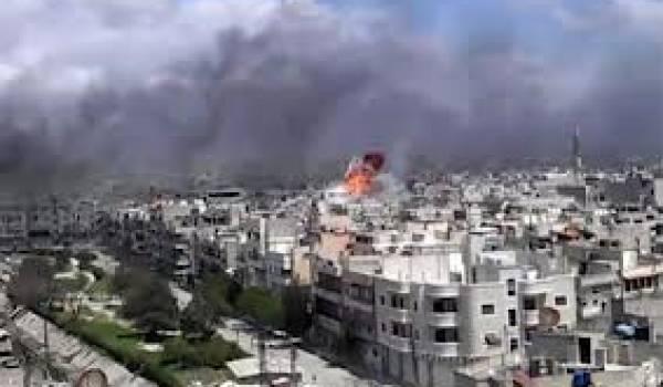 La Syrie est devenue un champ de ruines.