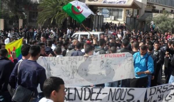 Un rassemblement se tiendra jeudi devant l'université de Tizi Ouzou pour dire non au 4e mandat.