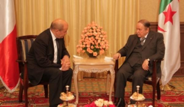 Bouteflika et Le Drian