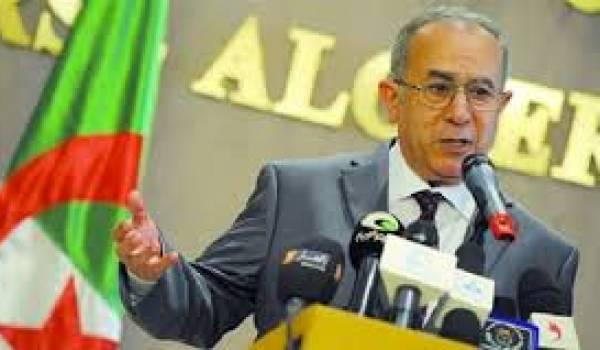 Ramtane Lamamra ne sera pas à la 32e session du Conseil des ministres des Affaires étrangères des pays de l'Union du Maghreb arabe (UMA) à Rabat