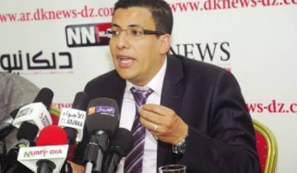 Fateh Boutbik avalise les résultats annoncés par le ministre de l'Intérieur.