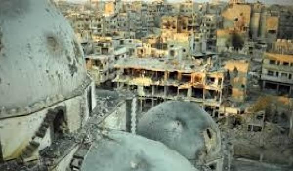 Les rebelles ont évacué Homs, une ville entièrement détruite par les bombardements du régime.