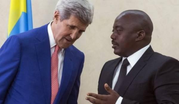 Kerry et Kabila.