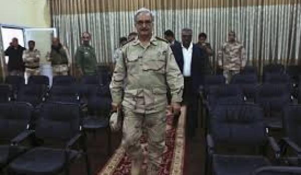 Le général Khalifa Haftar