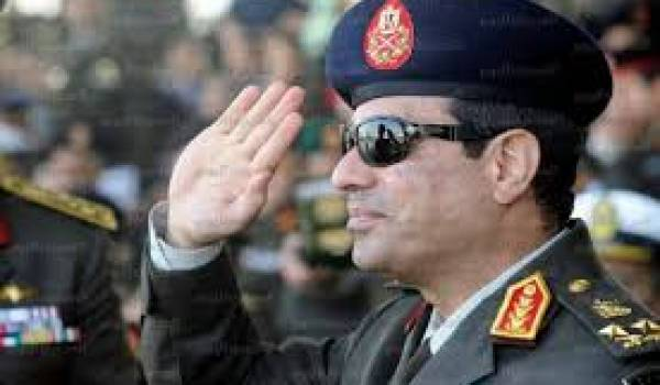 Le maréchal Al Sissi déterminé à faire disparaitre la confrérie de la scène politique.