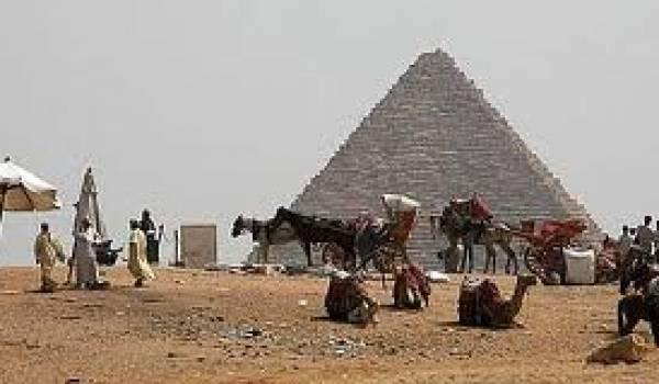 Le secteur du tourisme en Egypte est en berne depuis la révolution.
