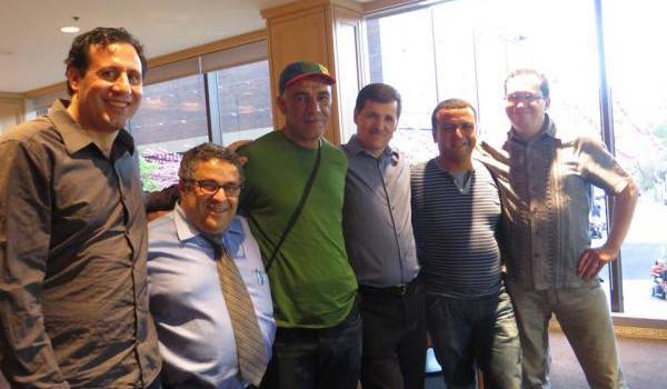 Des militants kabyles de Montréal.