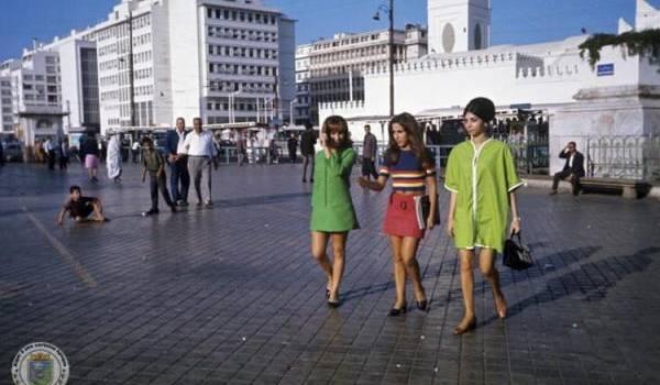 C'était hier, à Alger. Autre temps...