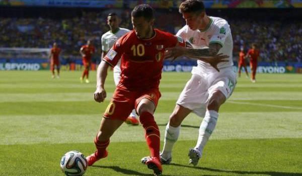 Les Belges donnent une leçon de foot aux Algériens.
