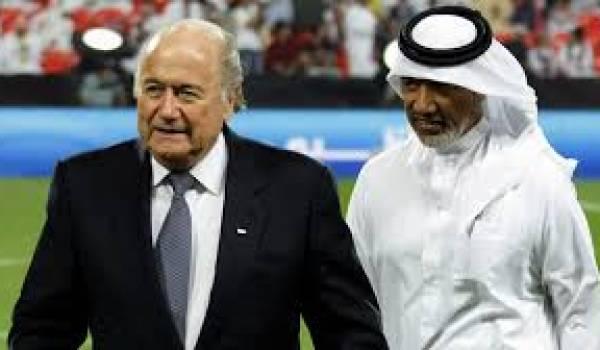 Joseph Blatter, le président de la FIFA par qui les scandales de corruption sont arrivés.