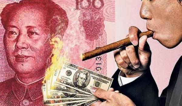 La Chine a 3000 milliards de dollars US, incluant 1 200 milliards de ces bons du Trésor.