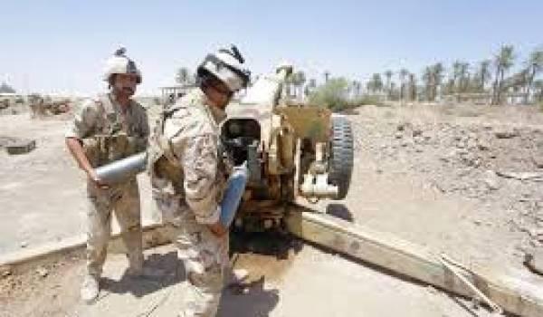 L'armée irakienne a subi de nombreux revers.