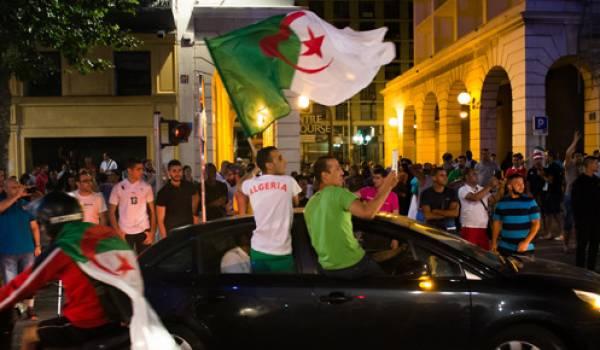 Des dizaines d'interpellations ont été effectués parmi les supporteurs algériens en France.