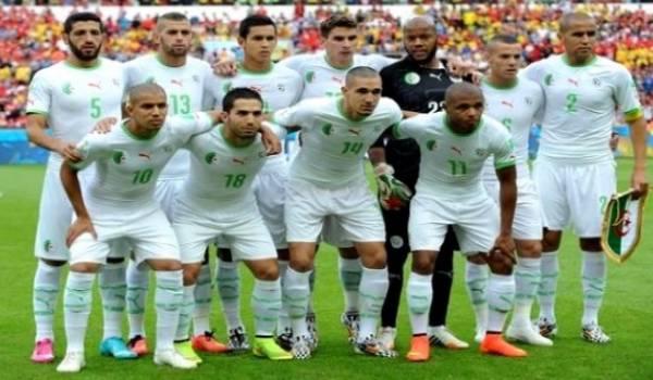 L'Algérie première équipe africaine.