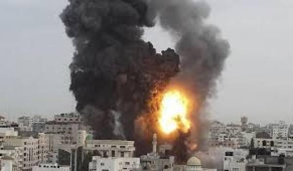 L'armée de terre israélienne envahit Gaza