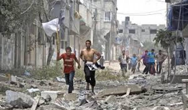 Les civils de Gaza payent le prix fort de l'agression militaire israélienne.